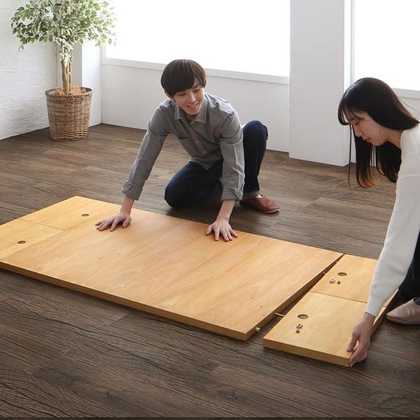 高さが調節できる、伸長式こたつソファダイニングセット Escher【エッシャー】6点セット(テーブル+2Pソファ2脚+1Pソファ1脚+コーナーソファ1脚+ベンチ1脚) W120-180 の商品写真その7