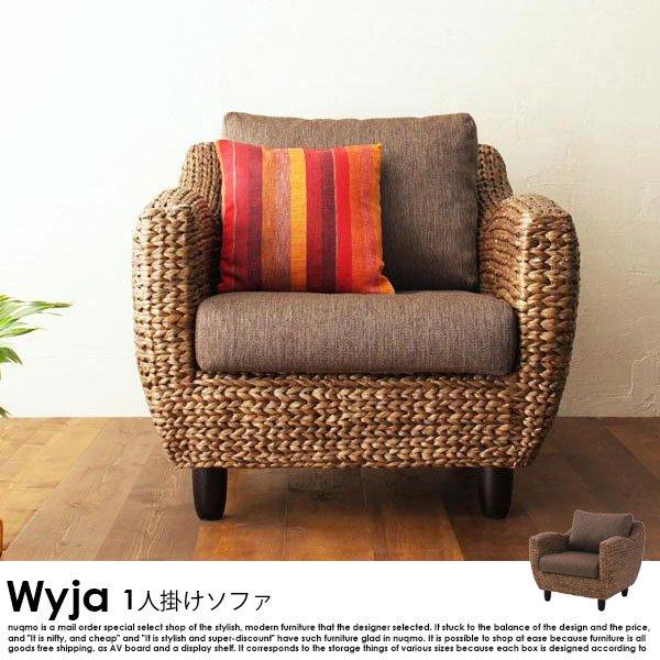 ウォーターヒヤシンス Wyja【ウィージャ】ソファ1人掛けの商品写真大