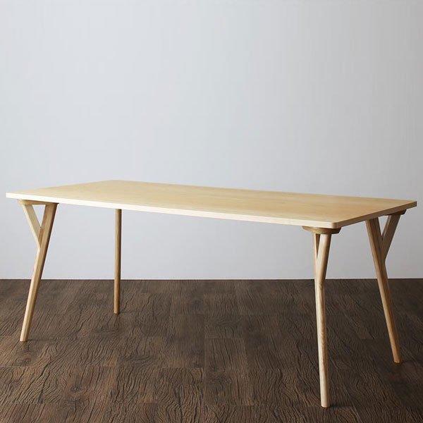 北欧デザインダイニング Wors【ヴォルス】5点セット(テーブル+チェア4脚) W170 の商品写真その4