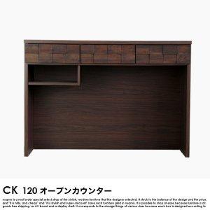 日本製 120 オープンカウンの商品写真