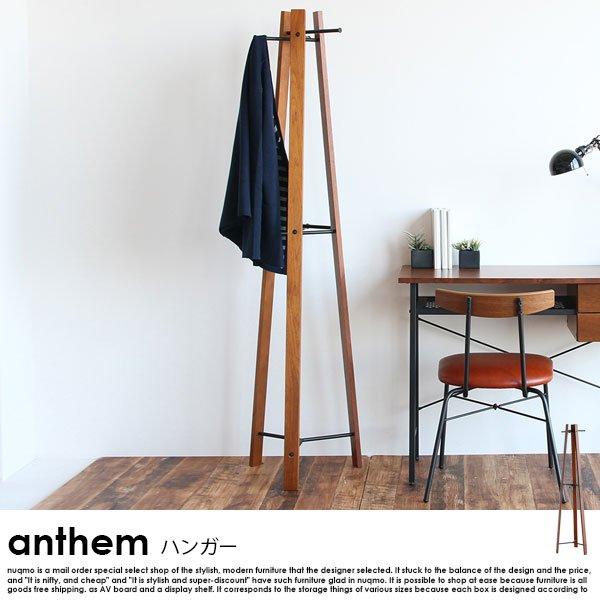 anthem【アンセム】シリーズ ハンガー 北欧・ウォールナットの商品写真大
