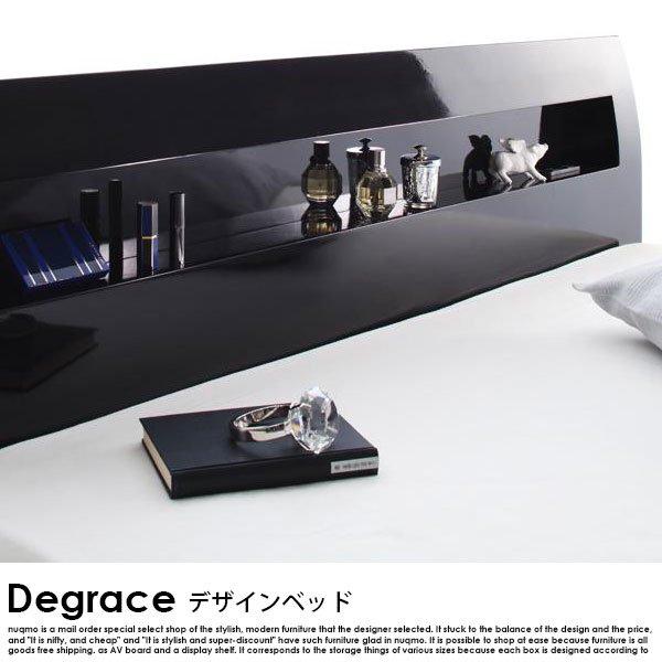 すのこベッド Degrace【ディ・グレース】プレミアムポケットコイルマットレス付 セミダブル の商品写真その3