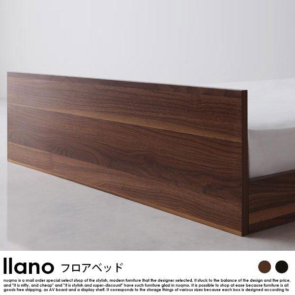 フロアベッド llano【ジャーノ】スタンダードボンネルコイルマットレス付 セミダブル の商品写真その3