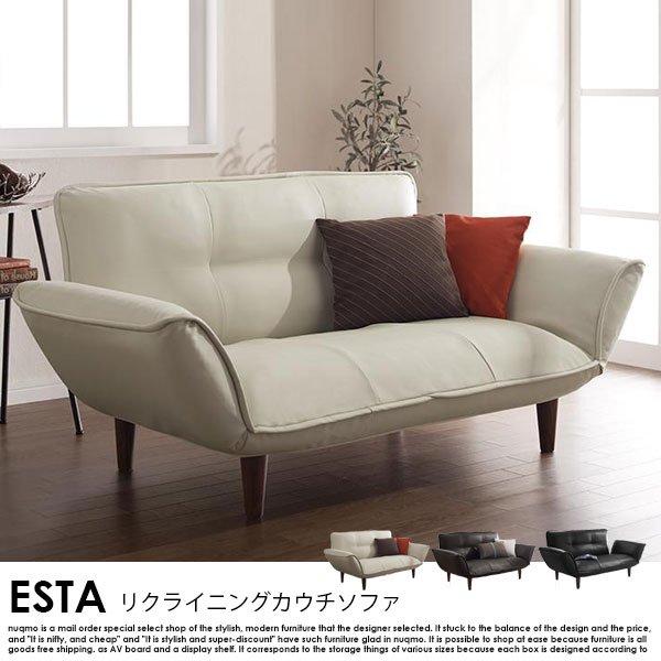 日本製カウチソファ Esta【エスタ】レザータイプの商品写真その1