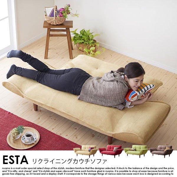 日本製カウチソファ Esta【エスタ】マイクロファイバータイプ の商品写真その10