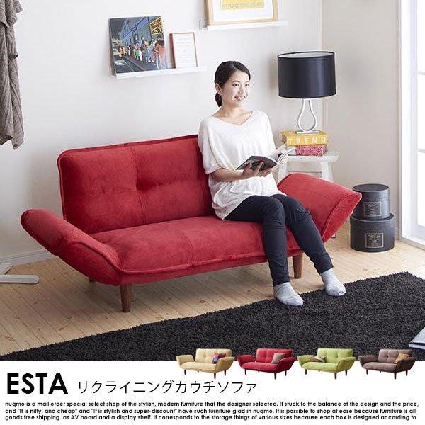 日本製カウチソファ Esta【エスタ】マイクロファイバータイプ の商品写真その4