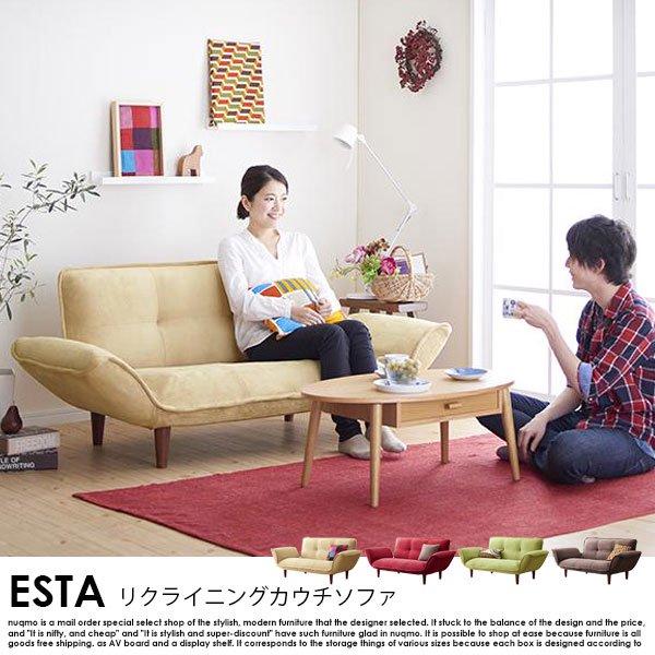 日本製カウチソファ Esta【エスタ】マイクロファイバータイプ の商品写真その5
