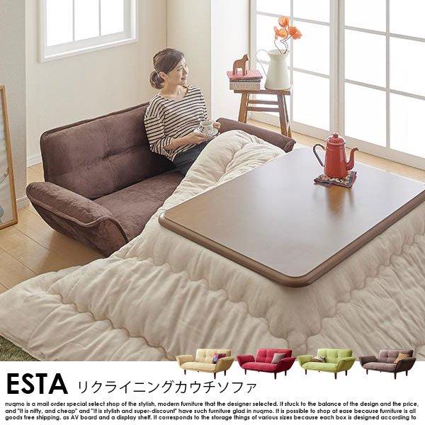日本製カウチソファ Esta【エスタ】マイクロファイバータイプ の商品写真その7
