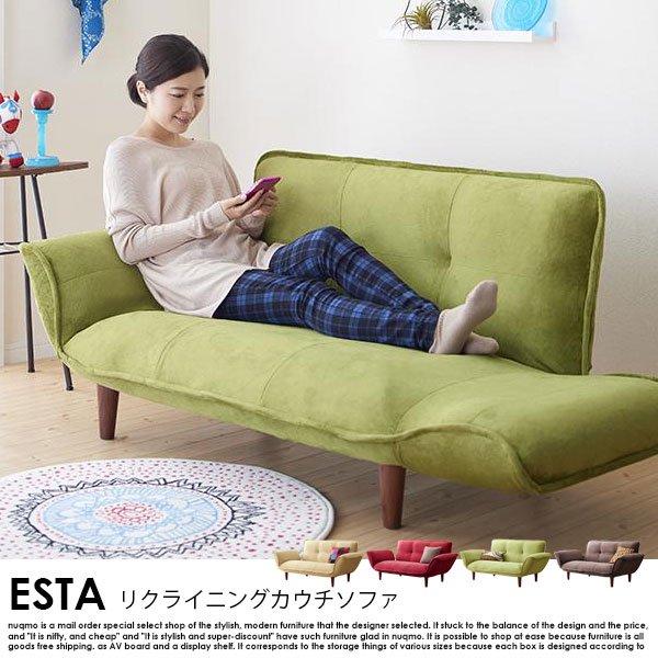 日本製カウチソファ Esta【エスタ】マイクロファイバータイプ の商品写真その8