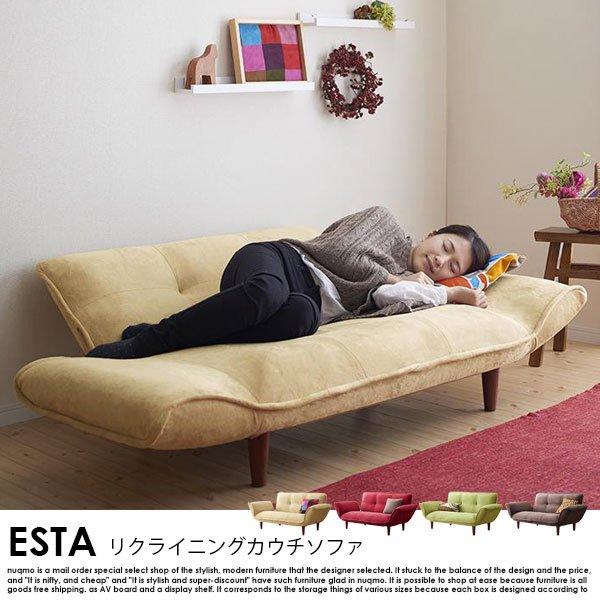 日本製カウチソファ Esta【エスタ】マイクロファイバータイプ の商品写真その9