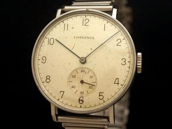 LONGINES / BIG CYLINDER CASE w. BONKLIP