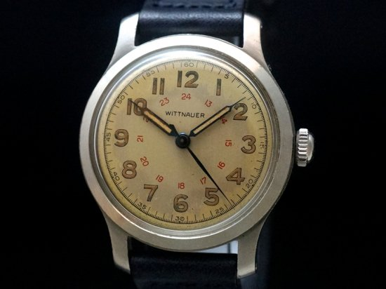 WITTNAUER / 24-HOUR-DIAL