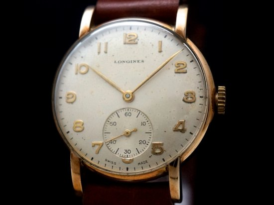 LONGINES / 9KYG w. ORIGINAL BOX 1940'S