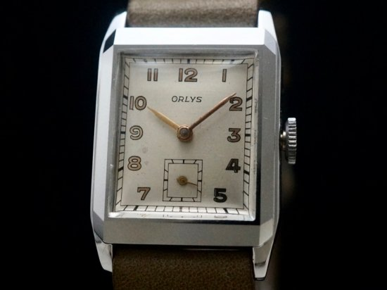 ORLYS / RECTANGULAR 1940'S