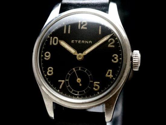 ETERNA / BLACK GILT DIAL 1940'S