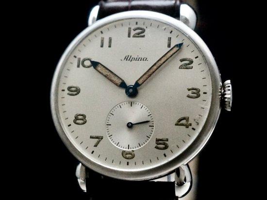 Alpina / TEAR-DROP LUGS, N.O.S 1940'S