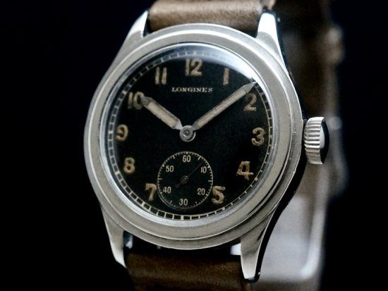LONGINES / TRE-TACCHE STEPPED CASE 1940'S