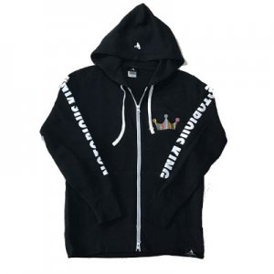 <img class='new_mark_img1' src='https://img.shop-pro.jp/img/new/icons29.gif' style='border:none;display:inline;margin:0px;padding:0px;width:auto;' />HITH NOTORIOUS ZIP HOODIE-BLACK-ノートリアス ジップパーカー