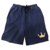 HITH NOTORIOUS DENIM STYLE SWEAT SHORTS -INDIGO-