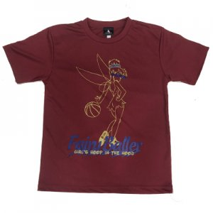 <img class='new_mark_img1' src='https://img.shop-pro.jp/img/new/icons30.gif' style='border:none;display:inline;margin:0px;padding:0px;width:auto;' />HITH FAIRY BALLER COTTONDRY TEE -Burgundy/Gold/Navy- バーガンディー ゴールド ネイビー