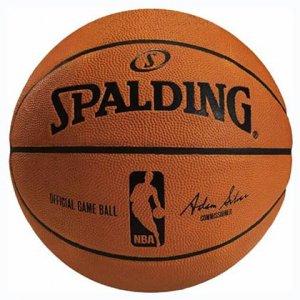 SPALDING(スポルディング) NBA Ofiicial Game Ball(NBAオフィシャルゲームボール/天然皮革) オレンジ/7号球