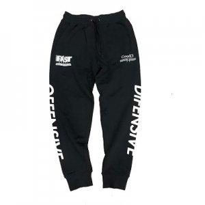 HITH(フープインザフッド/ヒス) DO Sweat Pants(DOスウェットパンツ) 黒/白