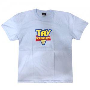 HITH(フープインザフッド) TRY STREET Tee(トライストリートTシャツ) ライトブルー