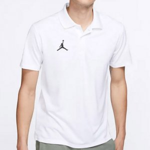 <img class='new_mark_img1' src='//img.shop-pro.jp/img/new/icons14.gif' style='border:none;display:inline;margin:0px;padding:0px;width:auto;' />NIKE(ナイキ) AIR JORDAN Training Polo(エアジョーダントレーニングポロシャツ) 白