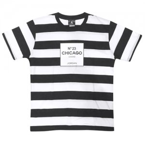 HITH(フープインザフッド) N°23 Boader Tee(N°23ボーダーTシャツ) 白/黒