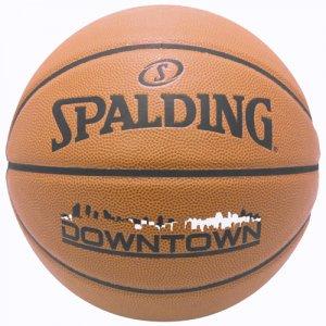 SPALDING(スポルディング)  Downtown PU Composite Ball(ダウンタウンPUコンポジットボール) 7号 オレンジ