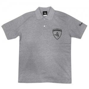 HITH(フープインザフッド) Aventaballer Emblem Polo(アヴェンタボーラーエンブレムポロシャツ) グレー