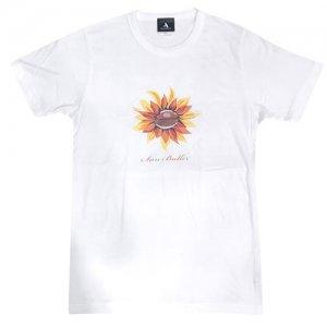 HITH(フープインザフッド/ヒス) Sun Baller Tri Brend Tee(サンボーラートリブレンドTシャツ) 白