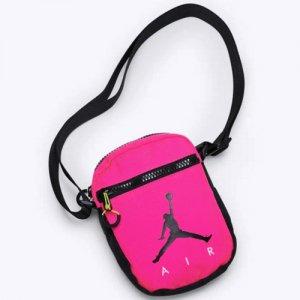 【海外限定!!】JORDAN(ジョーダン) Air Festival Bag(エアフェスティバルバッグ/ショルダーバッグ) ピンク