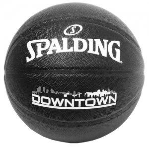 SPALDING(スポルディング)  Downtown PU Composite Ball(ダウンタウンPUコンポジットボール) 7号 黒