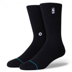 <img class='new_mark_img1' src='//img.shop-pro.jp/img/new/icons14.gif' style='border:none;display:inline;margin:0px;padding:0px;width:auto;' />STANCE(スタンス) NBA Logoman ST Socks(NBAロゴマンSTソックス/靴下) 黒