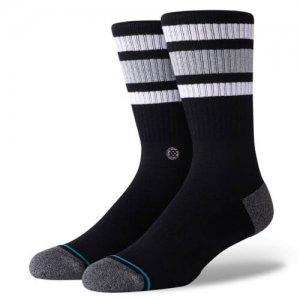 STANCE(スタンス) Boyd ST Socks(ボイドSTソックス/靴下) 黒/白