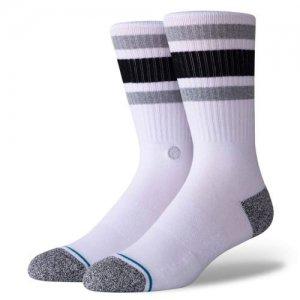 STANCE(スタンス) Boyd ST Socks(ボイドSTソックス/靴下) 白/黒