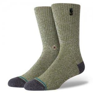 STANCE(スタンス) NBA Logoman BB Socks(NBAロゴマンBBソックス/靴下) グリーンヘザー