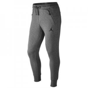 【海外直輸入】JORDAN(ジョーダンブランド) Jumpman Icon Fleece Pants(ジャンプマンアイコンフリースパンツ/スウェットパンツ) グレー