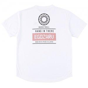 EGOZARU(エゴザル) Goal Back Print Tee(ゴールバックプリントTシャツ) 白