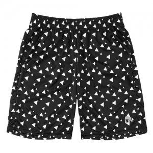 EGZARU(エゴザル) Play Button Shorts(プレイボタンショーツ/バスパン) 黒/白