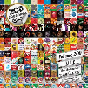 【MIX CD】DJ UE / Monthly Whizz(DJウエ / マンスリーウィズ) Volume.200 / 2CDs