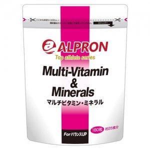 【家トレ応援!プロテイン・サプリセール20%OFF!】ALPRON(アルプロン) マルチビタミン ミネラル 180粒