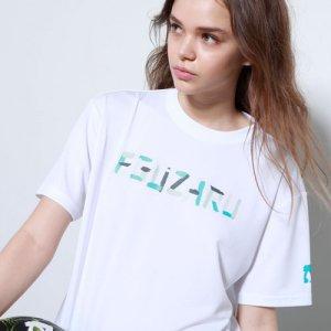 EGOZARU(エゴザル) Letter Gouache Tee(レターガッシュTシャツ) 白