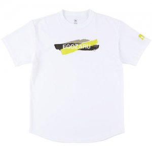 EGOZARU(エゴザル) Layer Gouache Tee(レイヤーガッシュTシャツ) 白