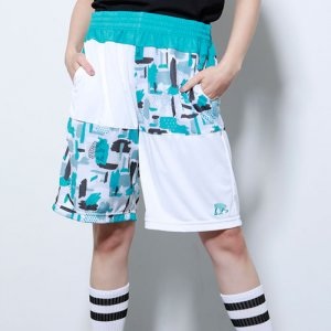 EGZARU(エゴザル) Gouache Shorts(ガッシュショーツ/バスパン) 白