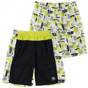EGZARU(エゴザル) Front Switching Gouache Shorts(フロントスウィッチングガッシュショーツ/バスパン) 黒
