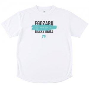 EGOZARU(エゴザル) Overwrite Gouache Tee(オーバーライトガッシュTシャツ) 白