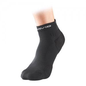 McDavid(マクダビッド) Premium Comfort Short Socks(プレミアムコンフォートショートソックス) 黒/左右2個入り