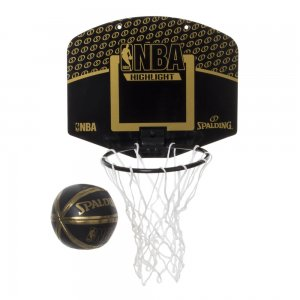 SPALDING(スポルディング) Micro Mini Back Board(マイクロミニバックボード/ミニボール付) NBAハイライト